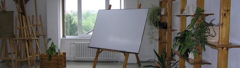 Ateliér Výtvarné výchovy - kreslící plátno