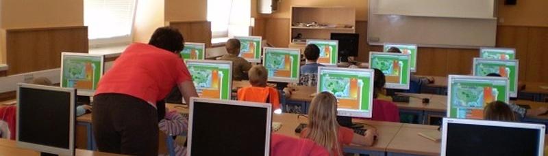 Učebna Informatiky